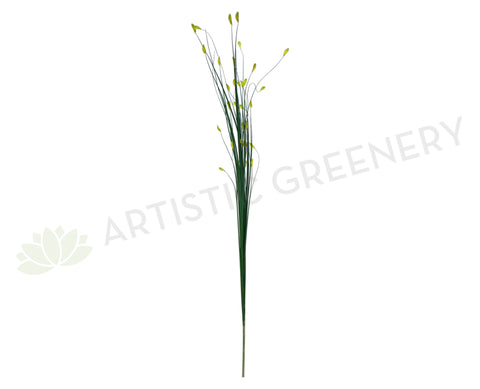 DS0002GRE Decorative Sticks 180cm Green (Yellow Tips)