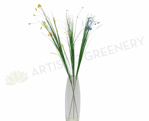 DS0006 Grass Stick with Coloured Tips 90cm