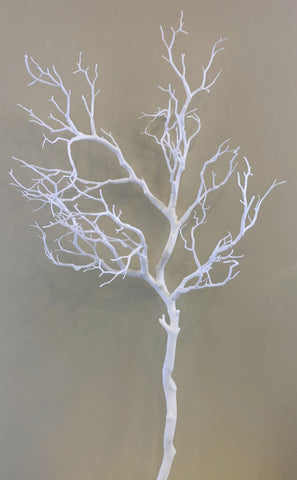 DS0043 Artificial Tree Branch 97cm White / Brown