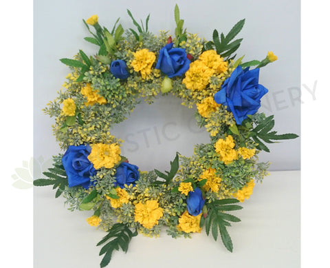Eagles Theme Floral Wreath 30cm / 50cm