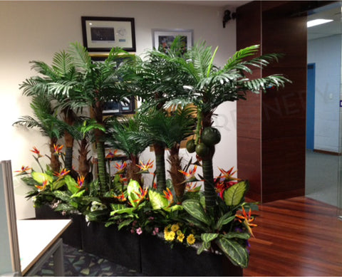 Elev8 Australia - Tropical Garden (Entrance Partition)