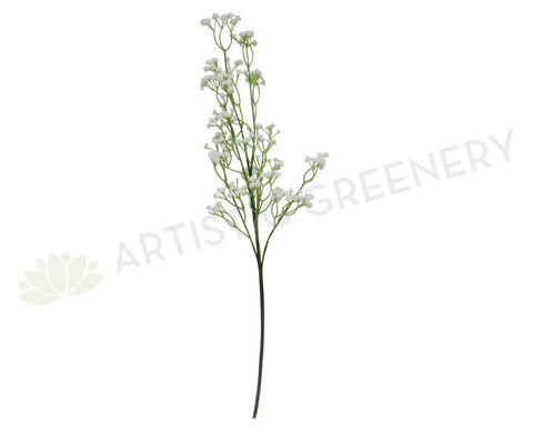 F-FI6394 / F0162 Gypso (Gyposophila) / Baby's Breath 65cm Real Touch White