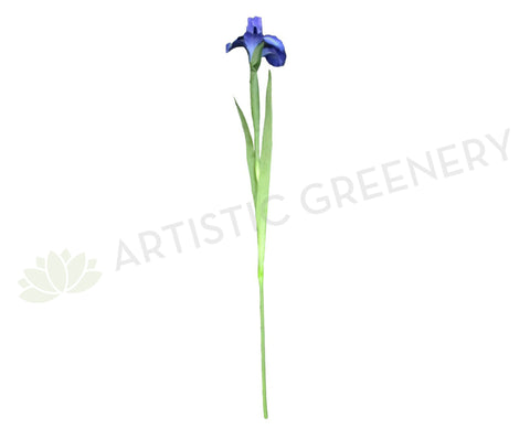 F-RT-5047 Iris (Large) Single Stem 70cm Blue