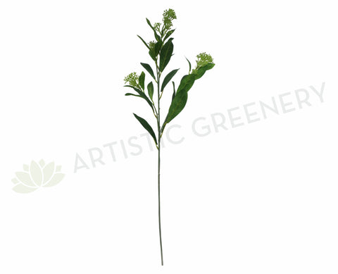 F-RT-5448CRGR Skimmia Spray 72cm