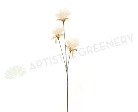 F-RT-5727 Dandelion Spray 70cm Cream