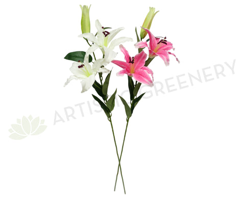 F0014 Casablanca Lily 97cm Pink / White