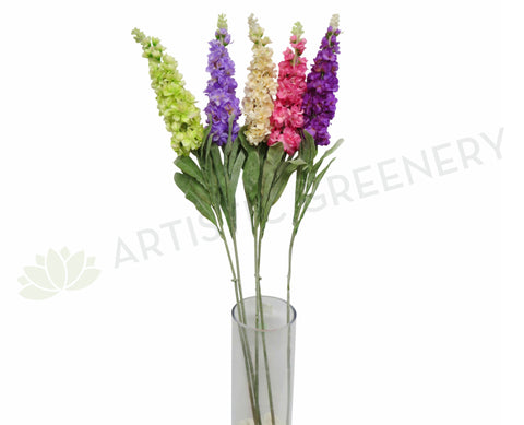 F0029 Delphinium Spray 107cm 5 Colours