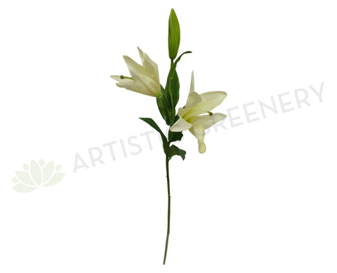 F0090 Oriental Lily (Latex) 78cm Cream