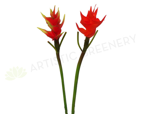 F0115 Bromeliad Flower Stem 80cm Real Touch 2 Styles