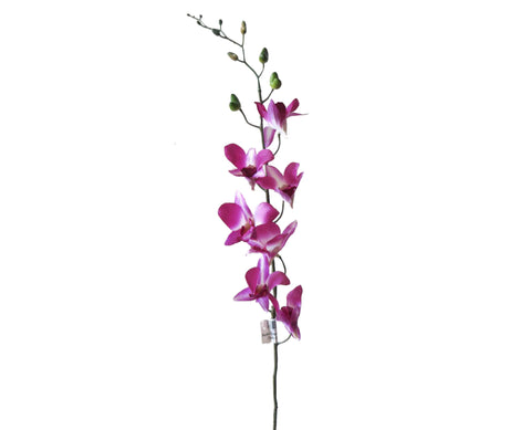 F0130 Dendrobium Orchid / Singapore Orchid 73cm Pink