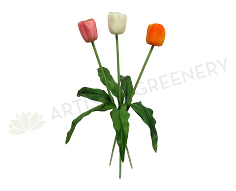 F0135 Real touch tulip