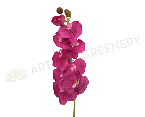 F0142 NEW Phalaenopsis Orchid Spray Real Touch 94cm Pink