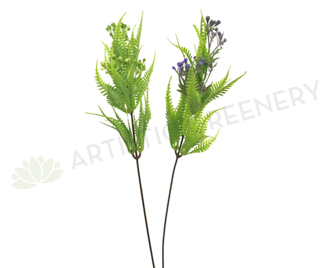 F0191 Seeded Fern Pick 43cm 2 Styles