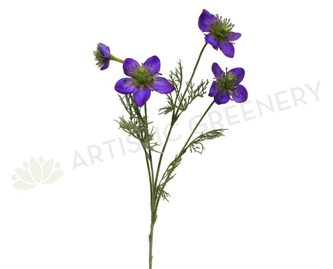 F0194 Love-In-A-Mist (Nigella) 57cm Purple
