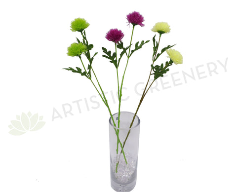 F0209 Thistle Stem 57cm 3 Colours