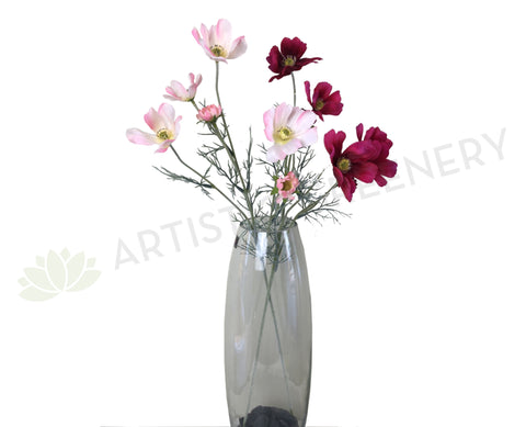 F0232 Cosmos Spray 60cm Light Pink / Magenta