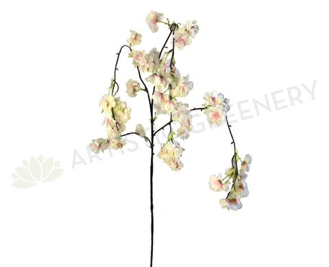 F0238 Weeping Apple Blossom Branch 137cm (SPECIAL) Light Pink