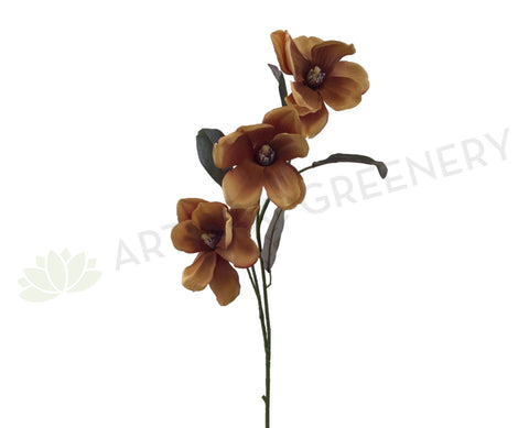F0262 Magnolia Spray 85cm Brown