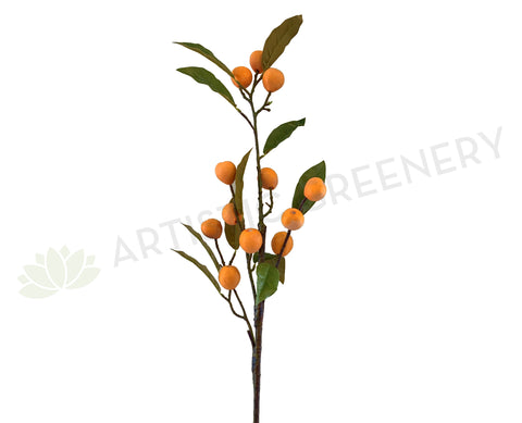 F0276 Artificial Loquat Spray 112cm