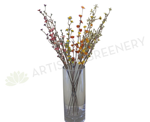 F0289 Small Wild Flower Spray 59cm 9 Styles