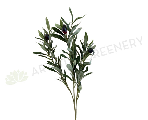 F0298 Artificial Olive Foliage 76cm | ARTISTIC GREENERY Fake Olive Branch
