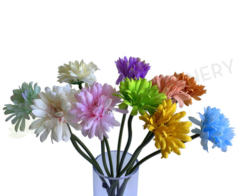 Clearance Stock - F0328 Gerbera Single Stem 48cm 10 colours