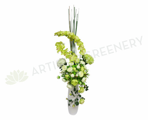 FA1006 - Orchid & Peony Floral Arrangement