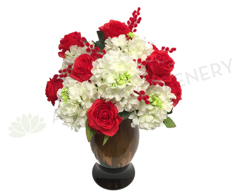 FA1033 - Rose & Hydrangea Arrangement (55cm Height)