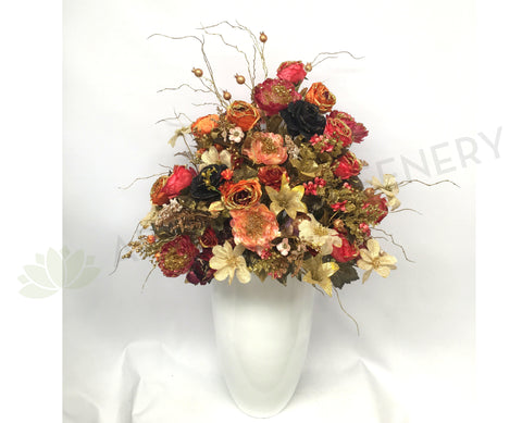 FA1051 - Large Metallic Colour Flower Arrangement (135cm Height)