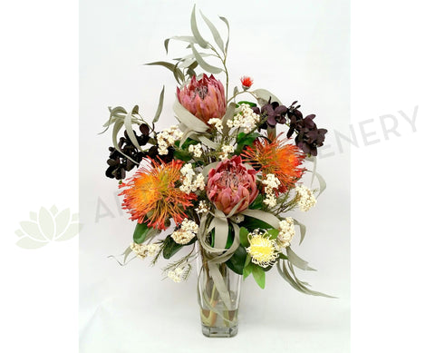 FA1059 - Native Flowers Arrangement (70cm Height) - The King's College