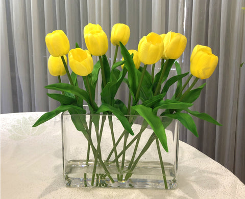 FA1080-1 - Latex Tulip Floral Arrangement 45cm Tall