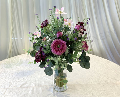 FA1083 - French Country Floral Arrangement 60cm Tall