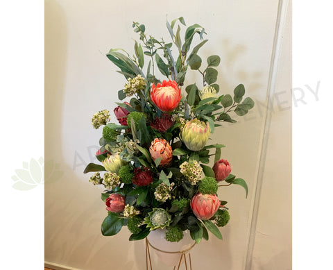 FA1085 - Mixed Australian Native Floral Arrangement 100cm Tall | ARTISTIC GREENERY