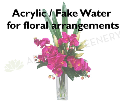 Acrylic water fake water faux water water resin for floral acrylic water mightylinksfo