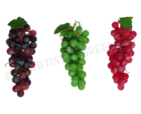 ACC0034 Artificial Grape - Globe Grape Bunch Real Touch