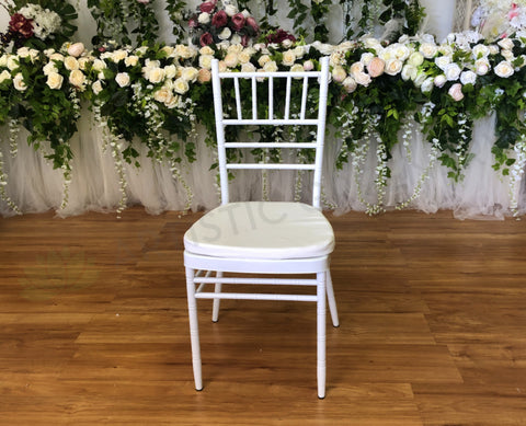 For Hire - White Tiffany Chair (Code: HI0004)
