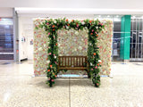 The Square Mirrabooka - Floral Swing & Flower Wall Hire for Mother's Day Event