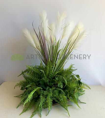 For Hire - Artificial Pampa Grass Centrepiece 95cm Height (Code: HI0033)