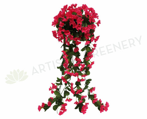HP0004BPIN Hanging Impatiens 87cm Bright Pink