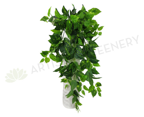 HP0013 Haning Philodendron Bush 85cm Real Touch