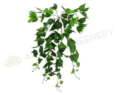 HP0032 Hanging Jade Pothos 80cm Real Touch Green