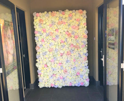 Hair on the Boulevard Ellenbrook - Flower Wall