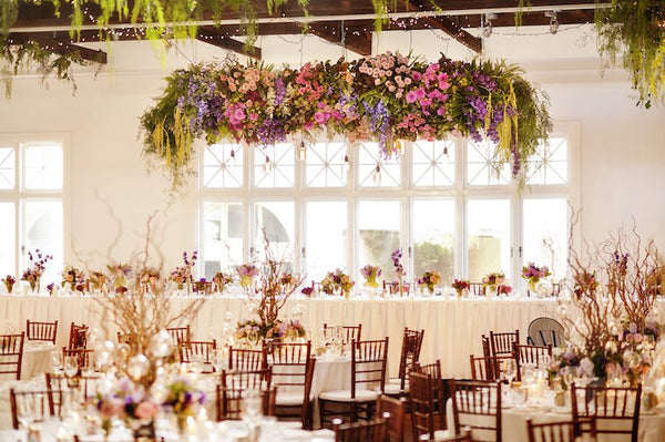 For Hire Hanging Flower Ceiling Artificial Flowers