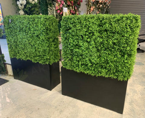 Artificial Hedge / Privacy Screen (made-to-order) 70cmH x 150cmW | ARTISTIC GREENERY
