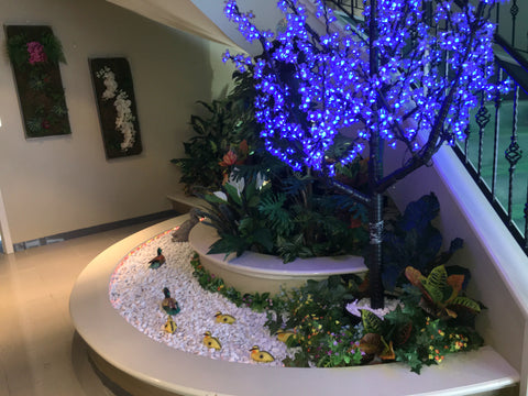 Home Interior Design And Artificial Plants Installation Built In