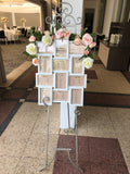 Custom-made Hire Items - Centrepieces for Guests & Bridal Tables (Jess & Paul)
