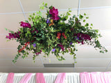 Hanging centrepieces
