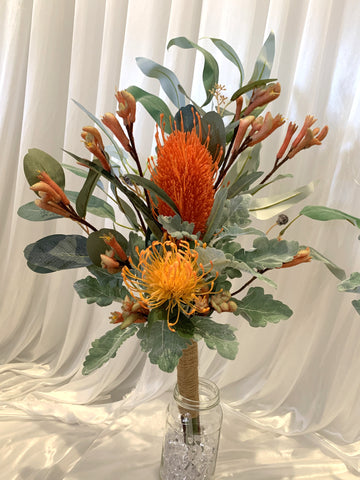 Natural Style Bouquet & Cake Decorations - Native Flowers - Colin E