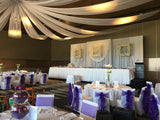 For Hire - Custom-made table centrepieces - Purple & White