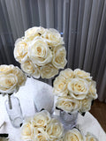 Round Bouquet - Ivory - Sunny M